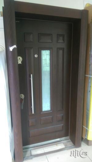 Isreali Security Door With Glass | Doors for sale in Lagos State, Surulere