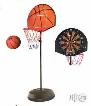 2-in-1 Basketball Stand And Darts | Toys for sale in Lagos State, Surulere