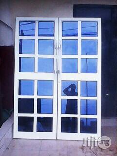 Quality Aluminum Swing Door   Doors for sale in Rivers State, Port-Harcourt
