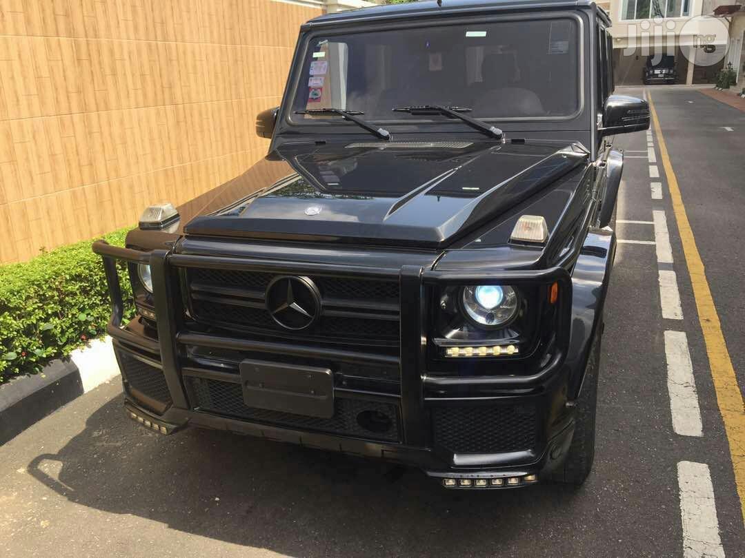 Mercedes-Benz G-Class 2013 Black
