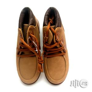 High Top Brown Lace Shoe for Boys | Shoes for sale in Lagos State, Lagos Island (Eko)