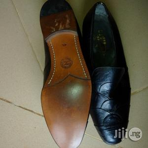 New Black Leather Classic Shoe for Men From UK   Shoes for sale in Lagos State, Ikorodu
