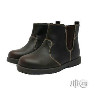 Brown Ankle Shoe for Boys   Children's Shoes for sale in Lagos State, Lagos Island (Eko)