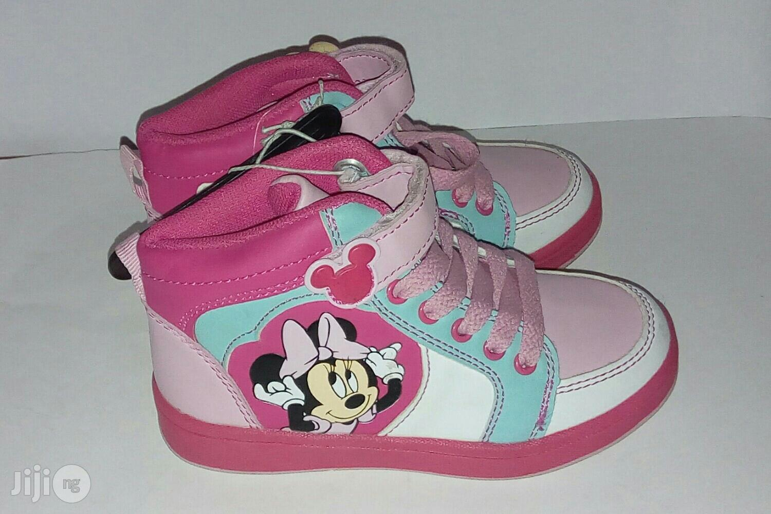 Archive: Pink Mini Mouse Canvas for Girls