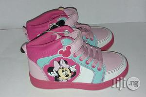 Pink Mini Mouse Canvas for Girls   Children's Shoes for sale in Lagos State, Lagos Island (Eko)