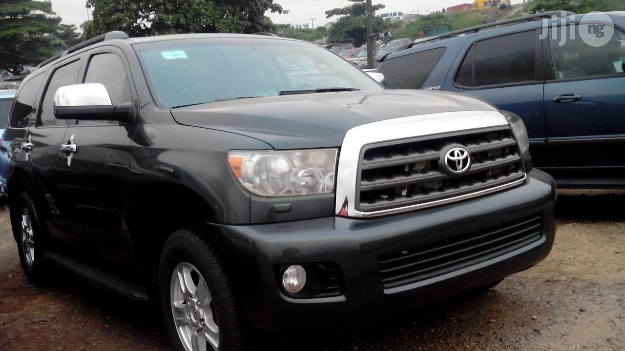 Toyota Sequoia 2011 Gray   Cars for sale in Apapa, Lagos State, Nigeria