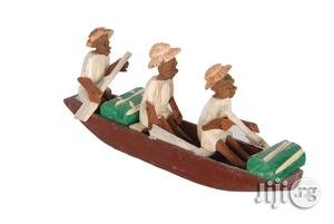 3 Passengers African Boat Art Work Design | Arts & Crafts for sale in Lagos State