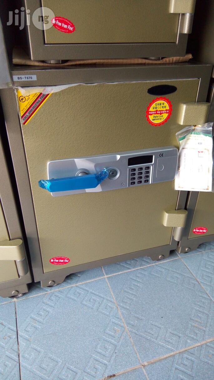 Electronic Iron Safe