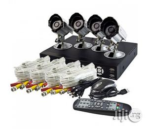 Complete 4 Channels CCTV Kit With Internet Mobile Phone View | Security & Surveillance for sale in Lagos State, Ikeja
