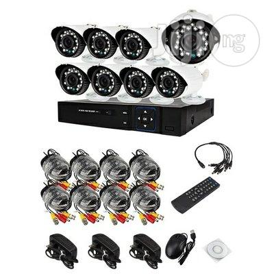 Complete 8 Channels CCTV Kit With Internet Mobile Phone View