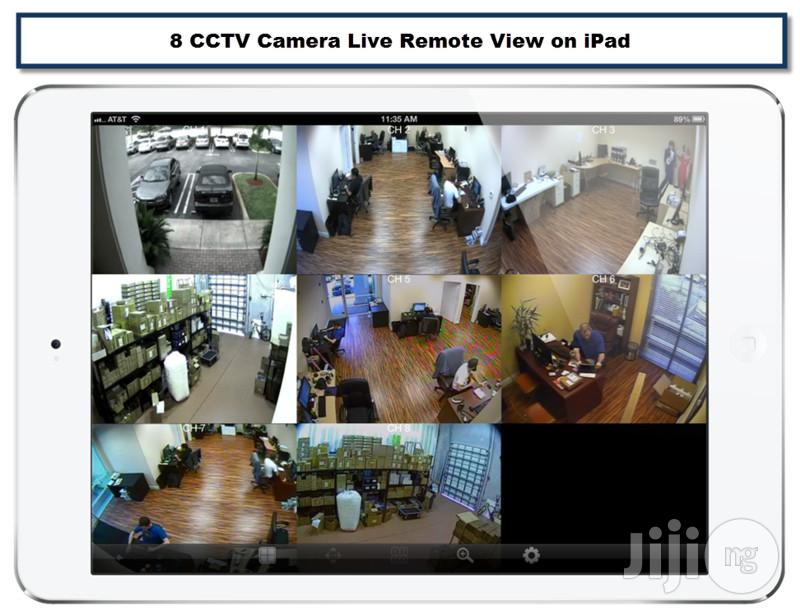 Complete 8 Channels CCTV Kit With Internet Mobile Phone View | Security & Surveillance for sale in Ikeja, Lagos State, Nigeria