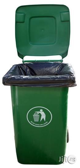 240 Litre LAWMA Wheelie Waste Bin for Your Home and Office | Home Accessories for sale in Lagos State, Ikeja