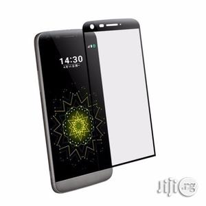 3D Curved Full Cover Tempered Glass Screen Protector Film for LG G5 | Accessories for Mobile Phones & Tablets for sale in Lagos State, Ikeja