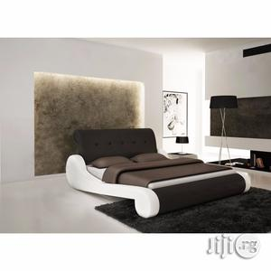 Elegant Faux Leather Bed 7ft X 6ft (Reference: Fx117wb) | Furniture for sale in Lagos State