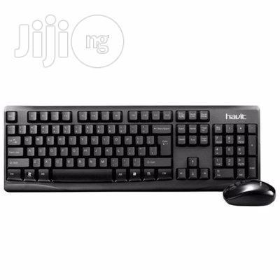 Havit 2.4G Wireless Keyboard Mouse