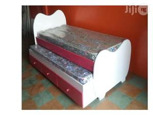2 in 1 Trundle Bed With Underneath Drawers | Furniture for sale in Lagos State, Ikeja