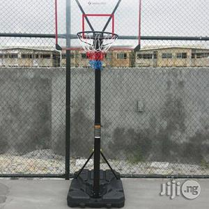 American Fitness Transpirent Basketball Upright Stand | Sports Equipment for sale in Lagos State, Ikeja