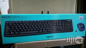 Logitech Keyboard and Mouse Mk270. | Computer Accessories  for sale in Lagos State, Ikeja