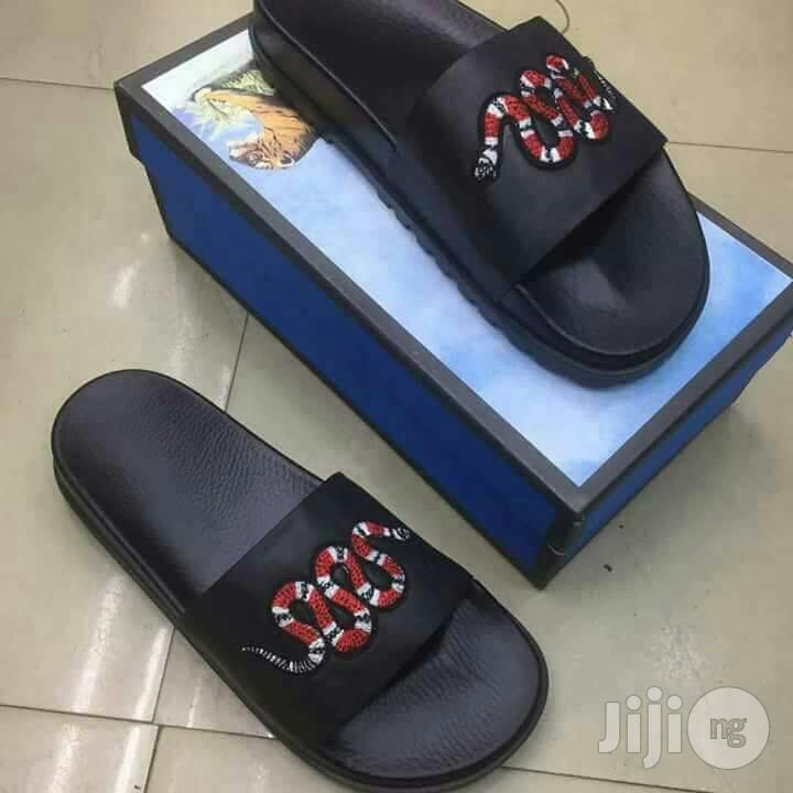 Men Quality GUCCI Palm Slippers