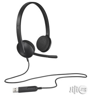 Logitech USB Stereo Headset H340 | Headphones for sale in Lagos State