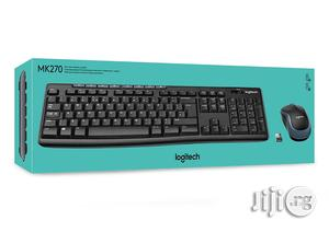 Logitech Wireless Keyboard & Mouse With Long-range Wireless MK270 | Computer Accessories  for sale in Lagos State