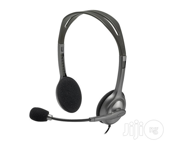 Logitech Stereo Headset H110 With Mic