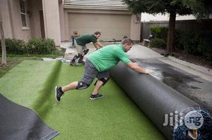 Installation Of Artificial Grass/Turf On Playground | Garden for sale in Lagos State, Ikeja