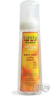 Cantu Shea Butter for Natural Hair Wave Whip Curling Mousse, 248ml | Hair Beauty for sale in Abuja (FCT) State, Gwarinpa