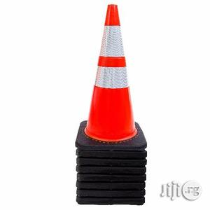 Orange Safety Traffic PVC Cones 28 Inch With Two Reflective Collars   Safetywear & Equipment for sale in Rivers State, Port-Harcourt