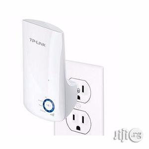 Tp-link 300mbps Universal Wifi Range Extender Tl-wa850re | Networking Products for sale in Lagos State, Ikeja