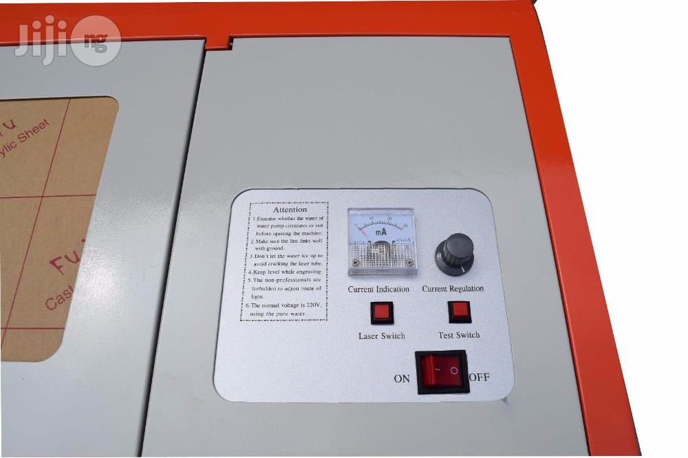 K-40 Co2 Laser Engraving Cutting Machine (40W)   Manufacturing Equipment for sale in Surulere, Lagos State, Nigeria