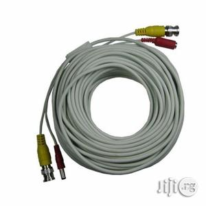 Pre-terminated 100m Video And Power BNC CCTV Cable With Connectors | Accessories & Supplies for Electronics for sale in Lagos State