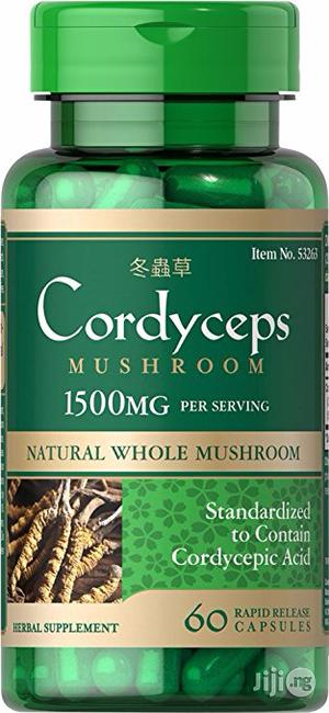 Cordyceps for Hepatitis, Sexual Dysfunction, Heart Health, Anti-Aging   Vitamins & Supplements for sale in Lagos State, Lekki