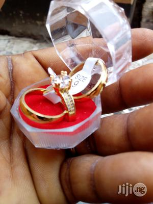 Gold Stainless Steel Wedding Rings   Wedding Wear & Accessories for sale in Lagos State, Surulere
