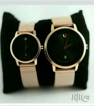 Movado Couples Watch - Gold | Watches for sale in Lagos State, Surulere