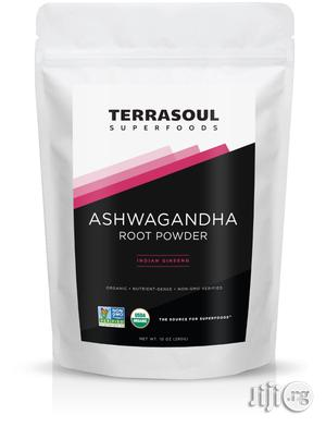 Terrasoul Superfoods Ashwagandha Root Powder (Organic) 280g   Vitamins & Supplements for sale in Lagos State