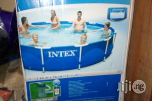 12fit Intex Swimming Pool With Filter   Sports Equipment for sale in Abuja (FCT) State, Utako