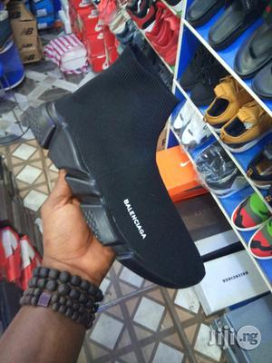 Balenciaga Black Sneakers   Shoes for sale in Lagos State, Surulere