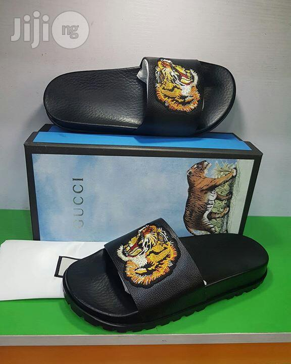 Quality Gucci Palm Slippers For Man