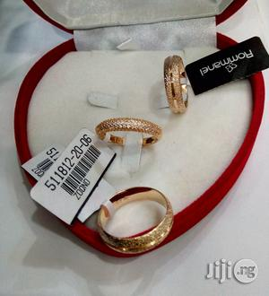 Exotic Brand New Romania Gold Engagement/Wedding Ring 05- In All Sizes | Wedding Wear & Accessories for sale in Lagos State