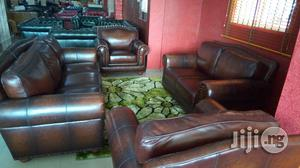 Leather Sofa Chair | Furniture for sale in Lagos State, Ojo