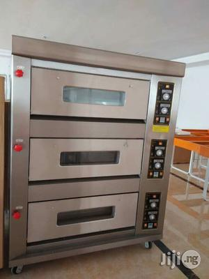 6 Trays Gas Baking Oven | Industrial Ovens for sale in Lagos State, Ojo