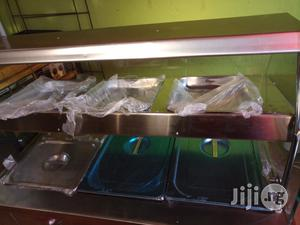 Bain Marie/Food Display Warmer 3 Full Plates With Upper Snack Shelf   Restaurant & Catering Equipment for sale in Lagos State, Ojo