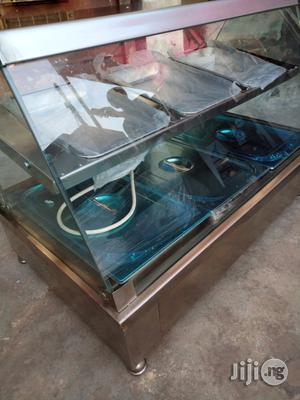 Bain Marie/Food Display Warmer 3 Full / 6 Half Pans With Snack Shelves   Restaurant & Catering Equipment for sale in Lagos State, Ojo