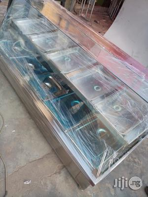 Bain Marie/Food Display Warmer 5 Full Plates With Upper Snack Shelf   Restaurant & Catering Equipment for sale in Rivers State, Port-Harcourt