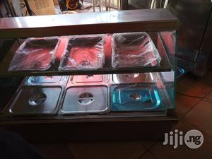 Bain Marie/Food Display Warmer 3 Full Plates With Upper Snack Shelf   Restaurant & Catering Equipment for sale in Lagos State, Surulere