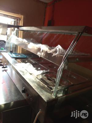 Bain Marie/Food Display Warmer 4full or 8 Half Plates With Snack Shelf   Restaurant & Catering Equipment for sale in Lagos State, Surulere