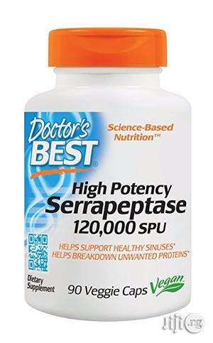 Doctor's Best Serrapeptase for Unblocking Fallopian Tubes | Vitamins & Supplements for sale in Lagos State, Lekki
