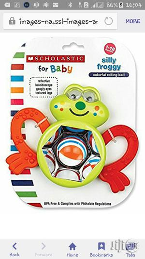 Scholastic Silly Froggy Rattle   Toys for sale in Lagos State, Ikeja