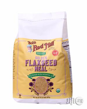 Bob's Red Mill Organic Golden Flaxseed Meal, 32 Ounce   Vitamins & Supplements for sale in Lagos State, Ikeja
